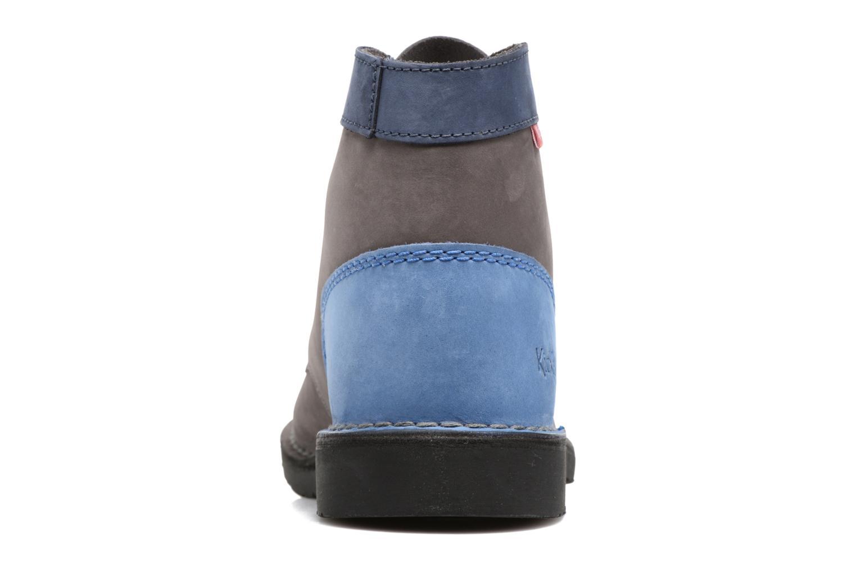 Chaussures à lacets Kickers Kick color perm Gris vue droite