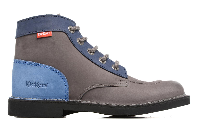 Chaussures à lacets Kickers Kick color perm Gris vue derrière