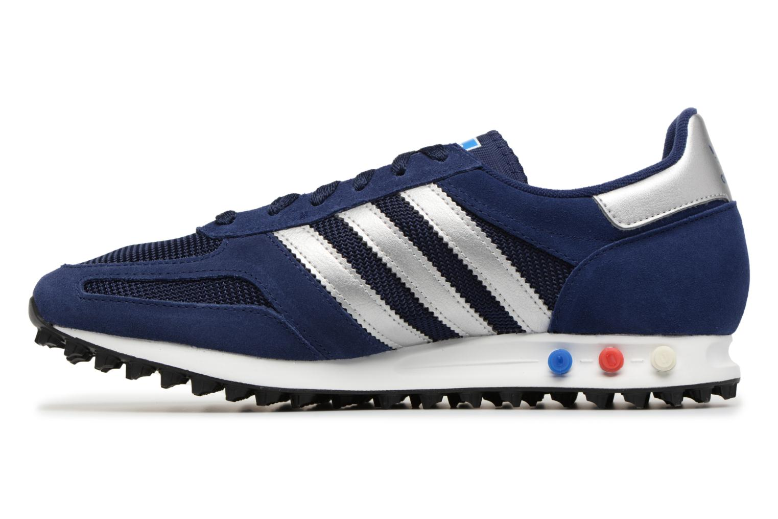 Trainers Adidas Originals LA Trainer Blue front view