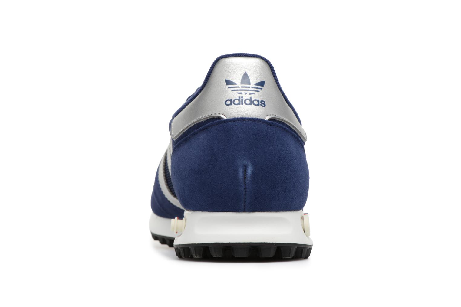 Trainers Adidas Originals LA Trainer Blue view from the right