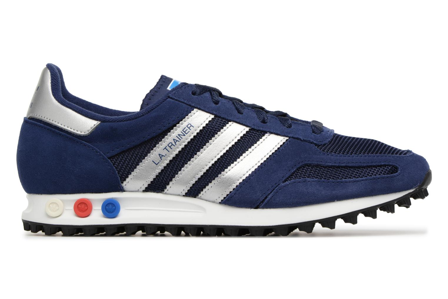 Trainers Adidas Originals LA Trainer Blue back view