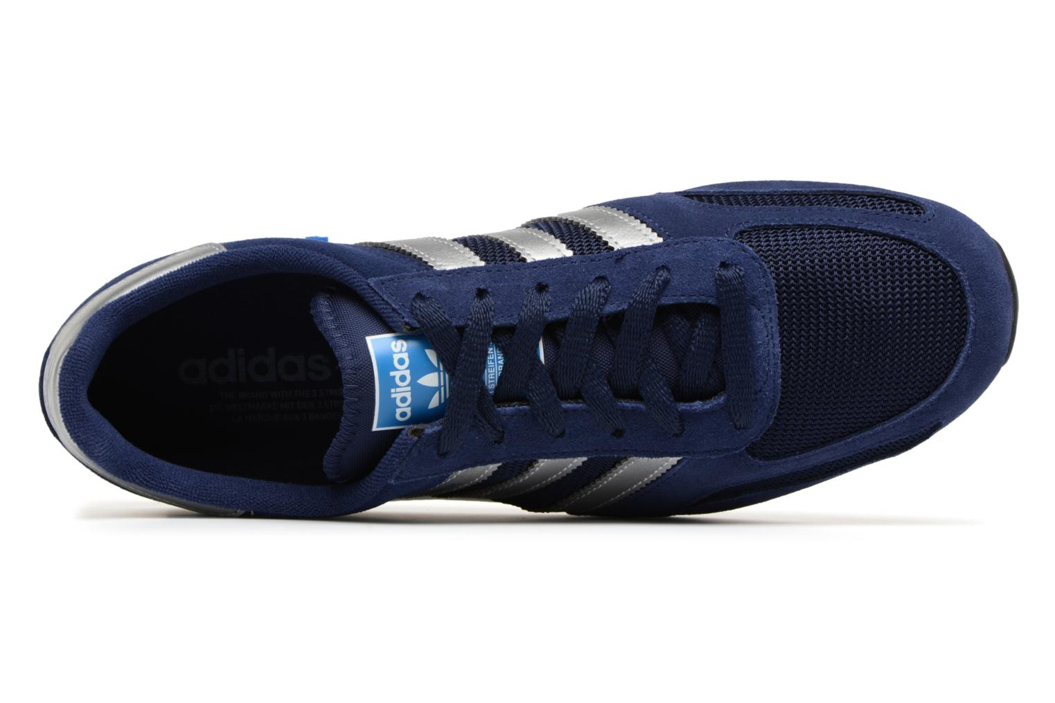 Trainers Adidas Originals LA Trainer Blue view from the left
