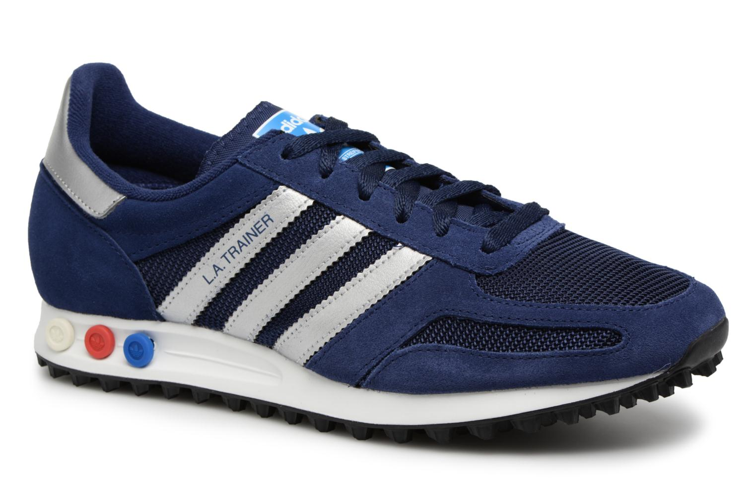 Trainers Adidas Originals LA Trainer Blue detailed view/ Pair view