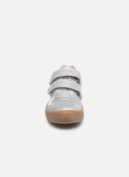 Bottes Bisgaard Jana Argent vue portées chaussures