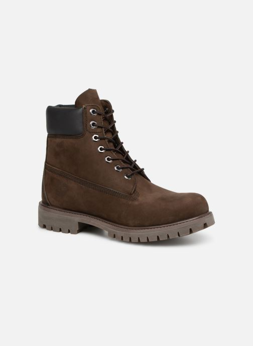 Bottines et boots Timberland 6in premium boot Marron vue détail/paire