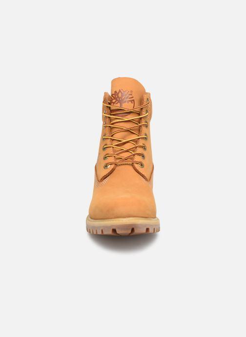 Bottines et boots Timberland 6in premium boot Marron vue portées chaussures