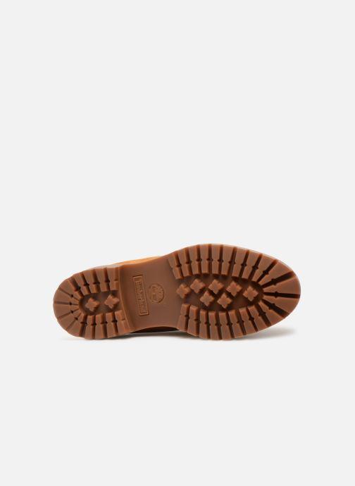Stivaletti e tronchetti Timberland 6in premium boot Marrone immagine dall'alto