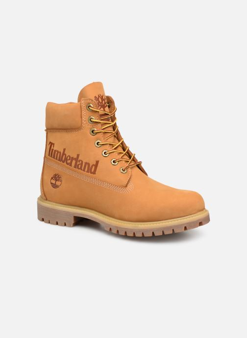 Botines  Timberland 6in premium boot Marrón vista de detalle / par