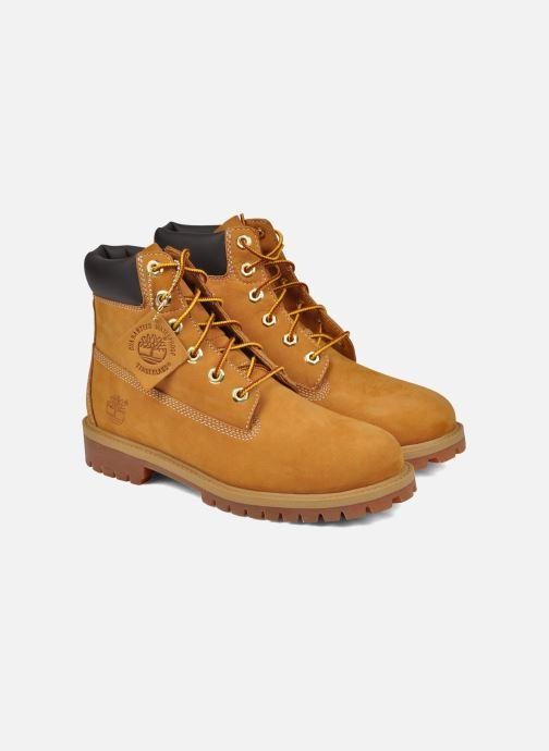 Botines  Timberland 6in premium boot Beige vista 3/4