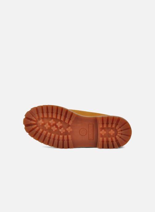 Stivaletti e tronchetti Timberland 6in premium boot Beige immagine dall'alto