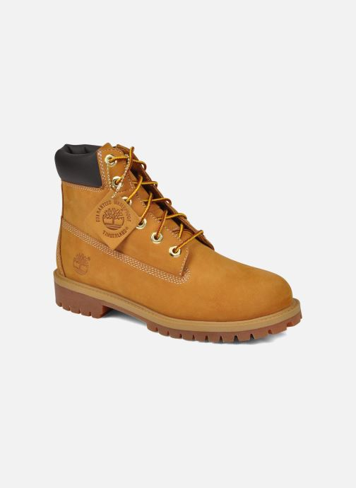 Ankle boots Timberland 6in premium boot Beige detailed view/ Pair view
