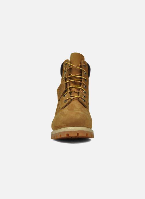 Stivaletti e tronchetti Timberland 6in premium boot Beige modello indossato