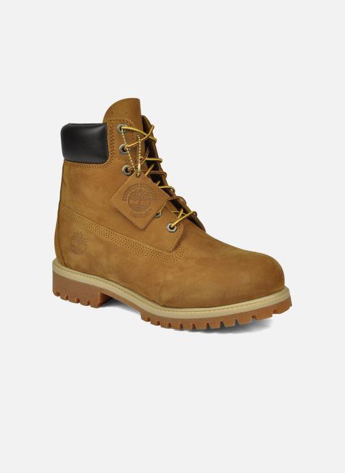 Bottines et boots Timberland 6in premium boot Beige vue détail/paire