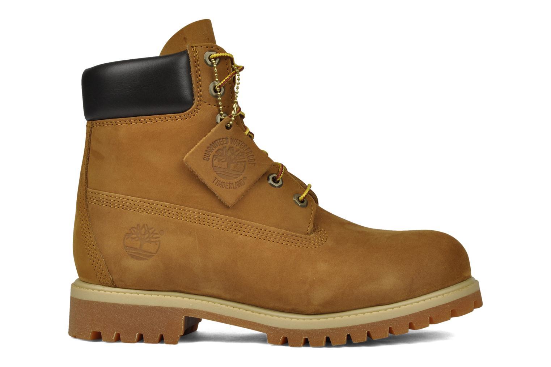 Botines  Timberland 6in premium boot Beige vistra trasera