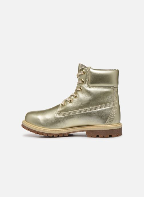 Bottines et boots Timberland 6in premium boot w Or et bronze vue face