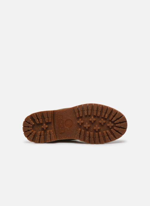 Bottines et boots Timberland 6in premium boot w Or et bronze vue haut