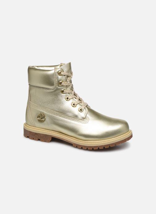 Bottines et boots Timberland 6in premium boot w Or et bronze vue détail/paire