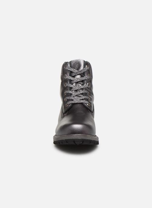 Boots en enkellaarsjes Timberland 6in premium boot w Zilver model
