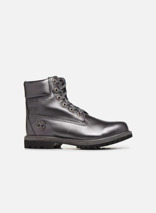 Botines  Timberland 6in premium boot w Plateado vistra trasera
