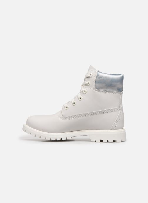 Bottines et boots Timberland 6in premium boot w Blanc vue face