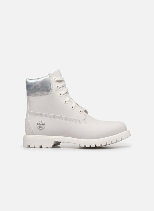 Bottines et boots Timberland 6in premium boot w Blanc vue derrière