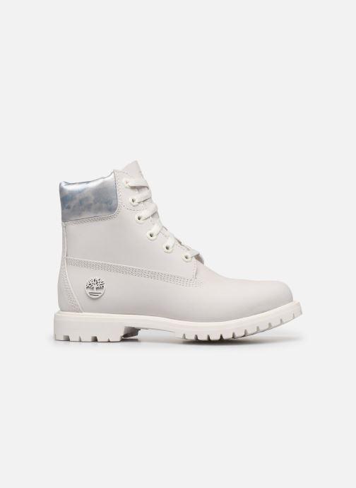 Botines  Timberland 6in premium boot w Blanco vistra trasera