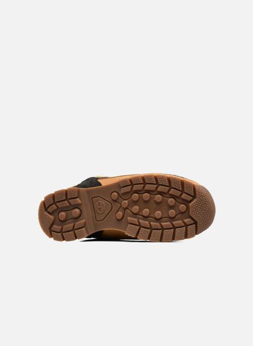 Bottines et boots Timberland Euro sprint Kids Marron vue haut