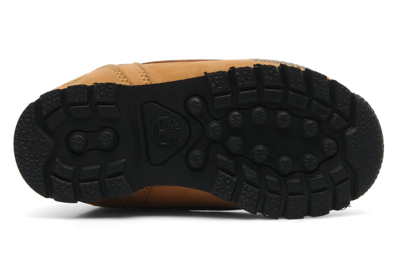 Bottines et boots Timberland Euro sprint Kids Beige vue haut