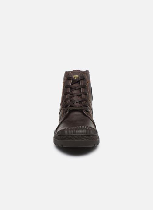Bottines et boots Pataugas Authentique M Marron vue portées chaussures