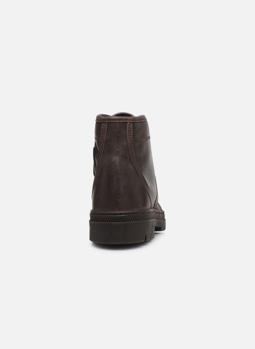 Bottines et boots Pataugas Authentique M Marron vue droite