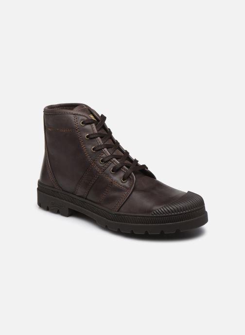 Bottines et boots Pataugas Authentique M Marron vue détail/paire