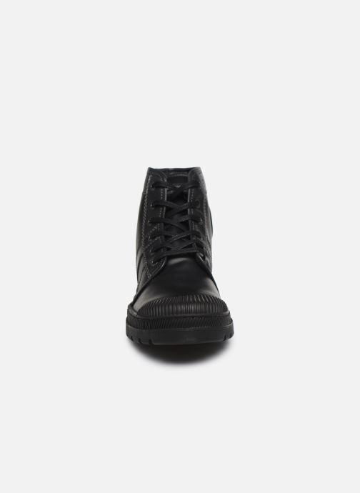 Stiefeletten & Boots Pataugas Authentique M schwarz schuhe getragen