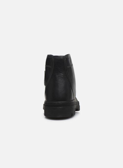 Boots en enkellaarsjes Pataugas Authentique M Zwart rechts