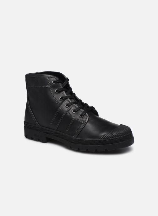 Boots en enkellaarsjes Pataugas Authentique M Zwart detail
