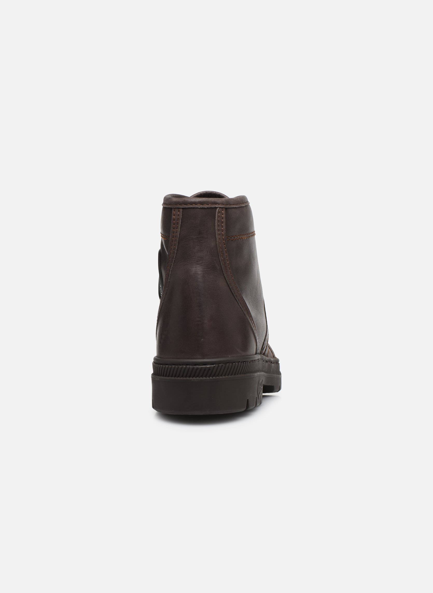 Ankle boots Pataugas Authentique M Brown view from the right