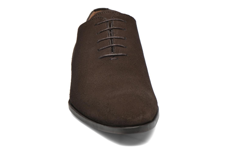 Chaussures à lacets Finsbury Broadway Marron vue portées chaussures