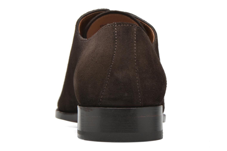 Chaussures à lacets Finsbury Broadway Marron vue droite