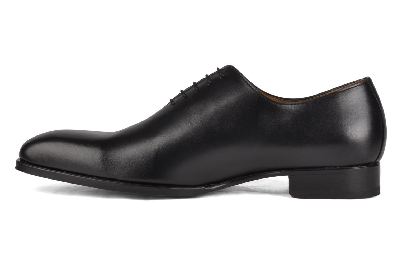 Chaussures à lacets Finsbury Broadway Noir vue face