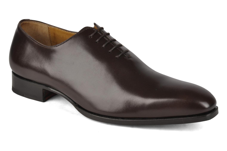 Chaussures à lacets Finsbury Broadway Marron vue détail/paire