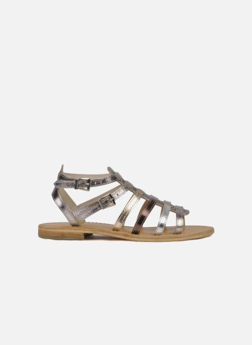 Sandales et nu-pieds Les Tropéziennes par M Belarbi Hic Argent vue derrière