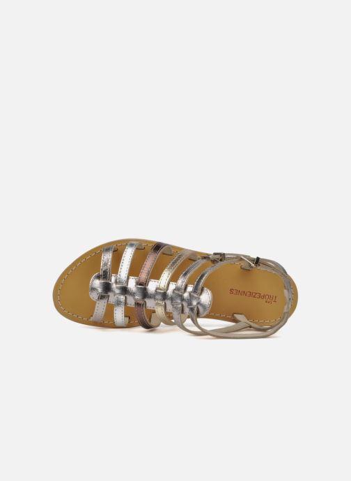 Sandales et nu-pieds Les Tropéziennes par M Belarbi Hic Argent vue gauche