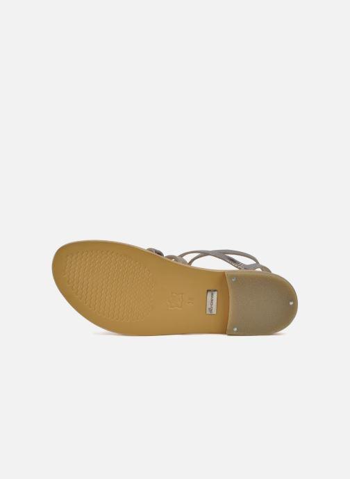 Sandales et nu-pieds Les Tropéziennes par M Belarbi Hic Argent vue haut