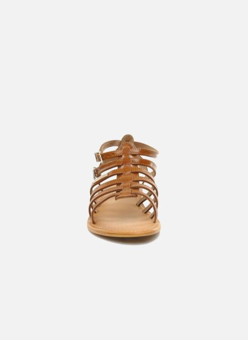 Sandals Les Tropéziennes par M Belarbi Hic Brown model view