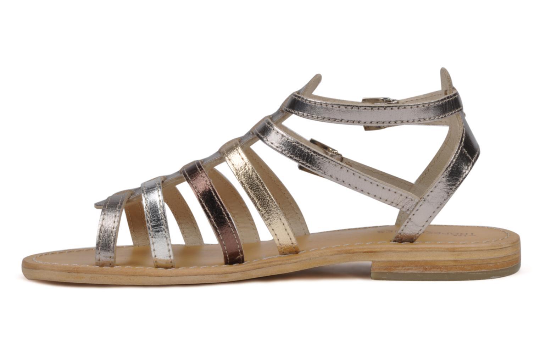 Sandals Les Tropéziennes par M Belarbi Hic Silver front view