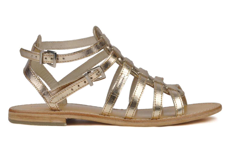 Sandales et nu-pieds Les Tropéziennes par M Belarbi Hic Or et bronze vue derrière