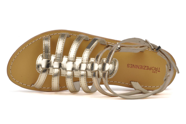 Sandales et nu-pieds Les Tropéziennes par M Belarbi Hic Or et bronze vue gauche