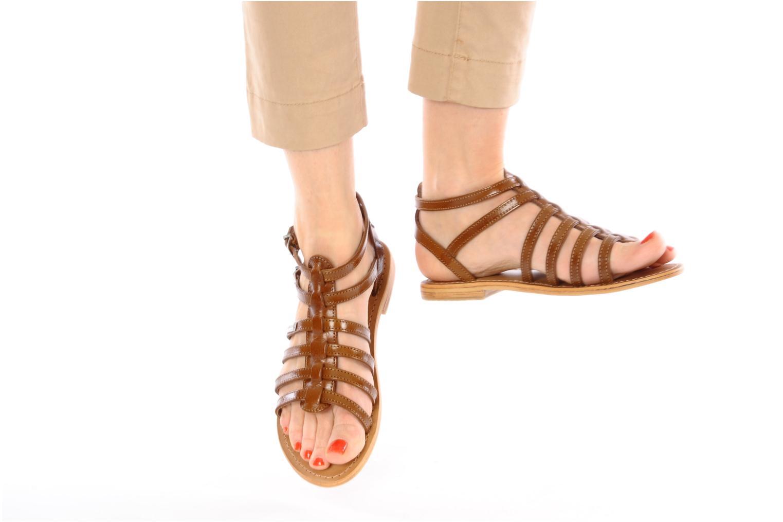 Sandali e scarpe aperte Les Tropéziennes par M Belarbi Hic Marrone immagine dal basso