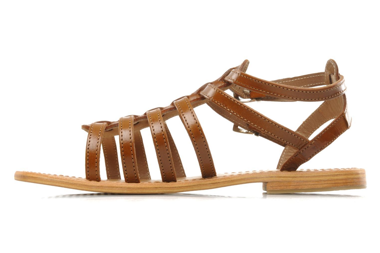 Sandali e scarpe aperte Les Tropéziennes par M Belarbi Hic Marrone immagine frontale