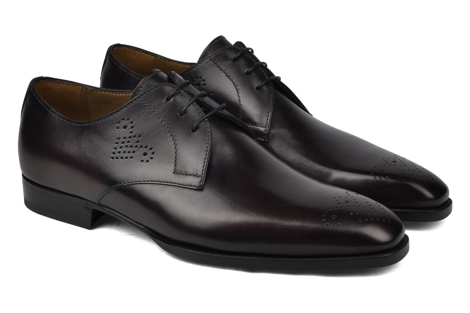 Lace-up shoes StefanoBi Fondi Black 3/4 view