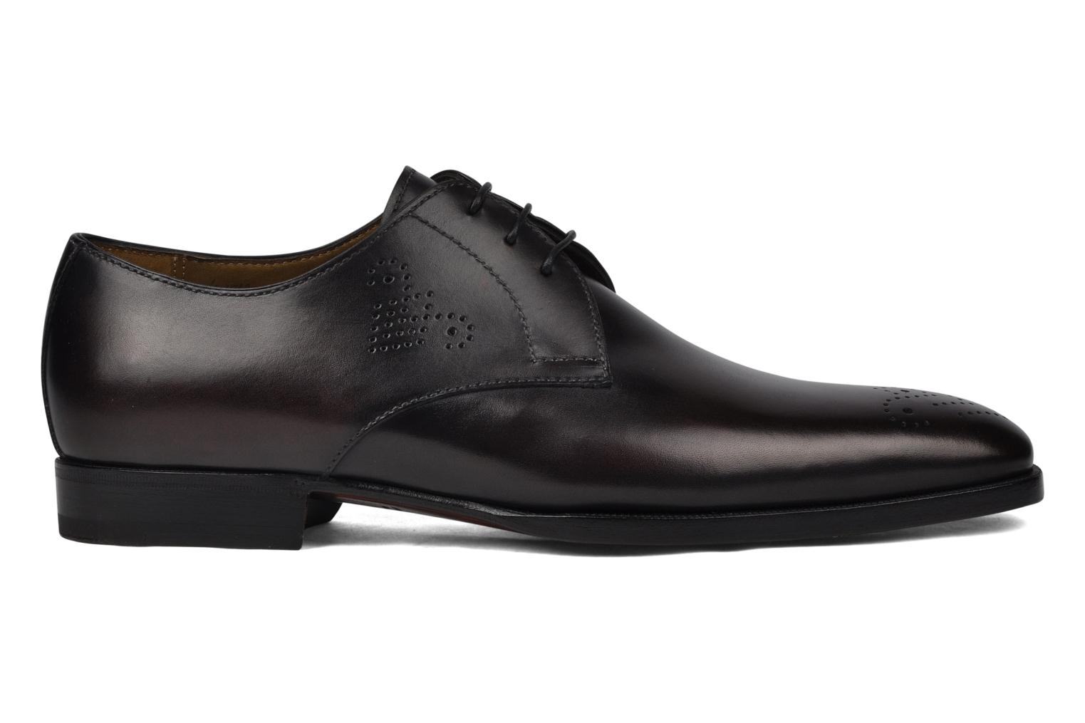 Lace-up shoes StefanoBi Fondi Black back view